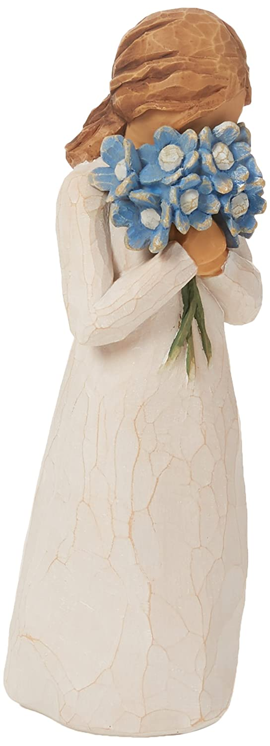 Willow Tree Forget-Me-Not Hand Painted Sculpture Figure