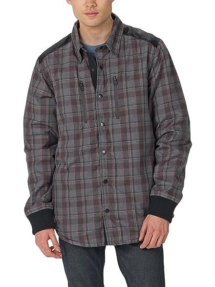 Amazon.com: Burton Field Quilted Flannel Shirt - Men's: Sports ... : quilted shirt mens - Adamdwight.com