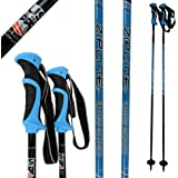 "Ski Poles Carbon Composite Graphite - Zipline ""Lollipop"" U.S. Ski Team Official Ski Pole - Choose from Colors and 10 Sizes"