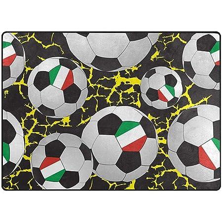LAURE Alfombras de área Grande Balones Deportivos Fútbol Fútbol ...