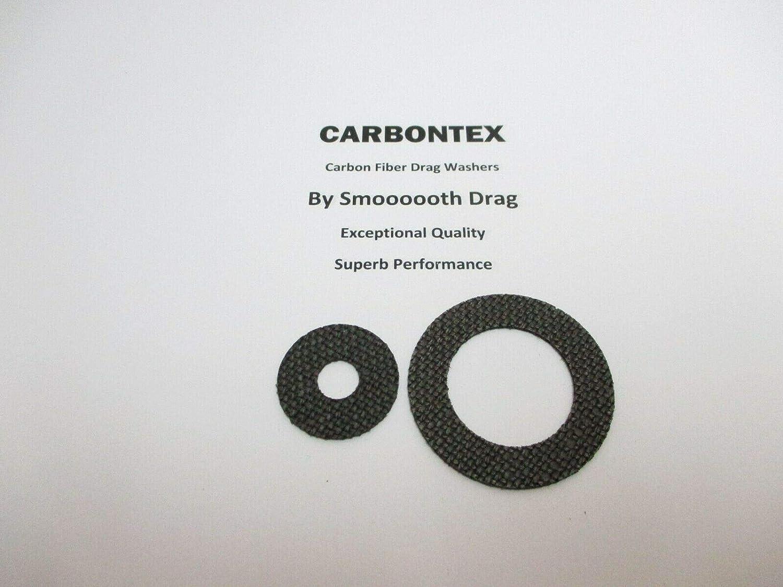 2 Smooth Drag Carbontex Washers #SDS90 Reel Part Curado 200HGK