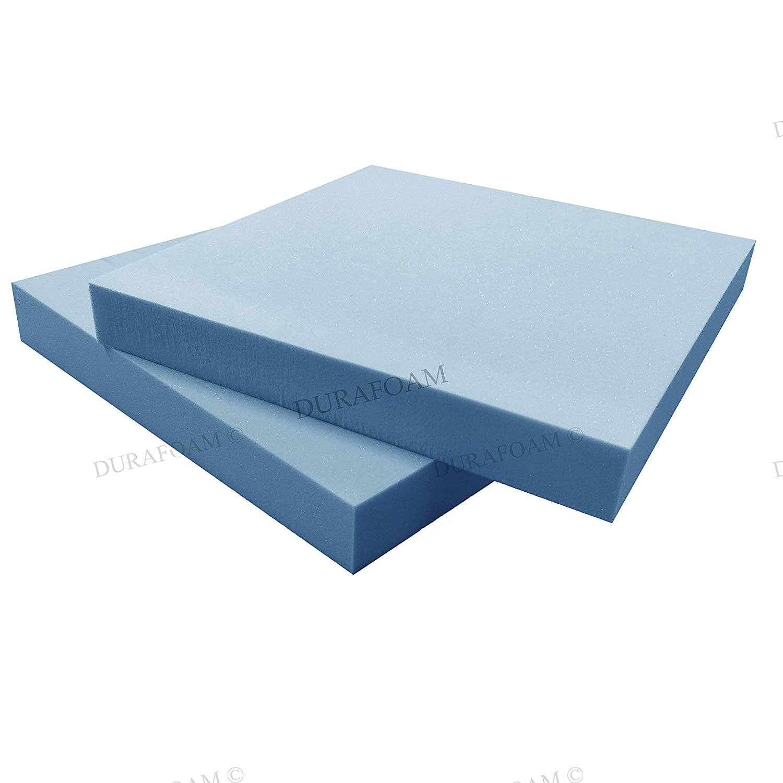 Dura-Foam Cojines de espuma para tapicería de alta densidad, para silla de comedor, 18 x 18 x 2: Amazon.es: Hogar