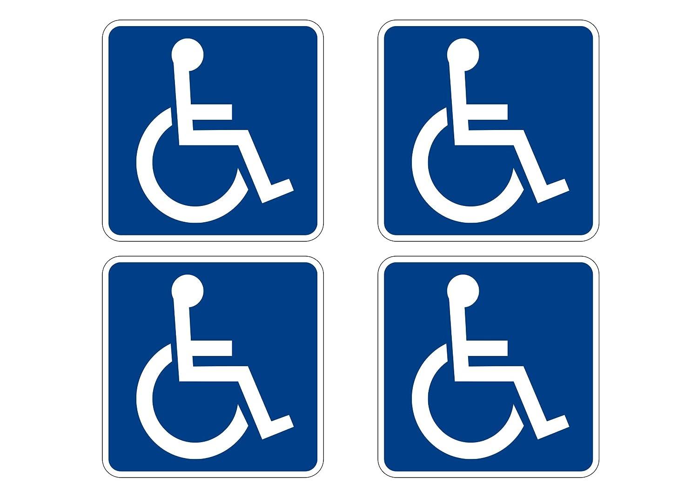 Amazon.com: Discapacitados símbolo de silla de ruedas Ada ...