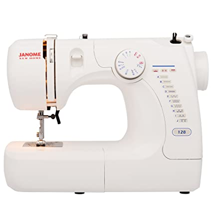 Amazon.com: Janome Basic Easy-to-Use 128 Sewing Machine with ...