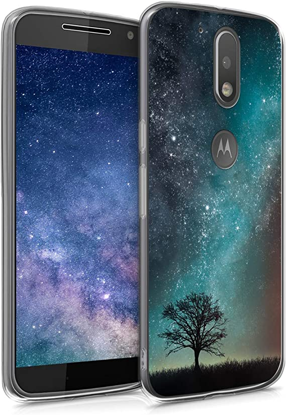 kwmobile Funda Compatible con Motorola Moto G4 / Moto G4 Plus ...