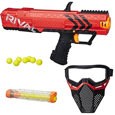 NERF Rival Apollo XV-700 and Face Mask Red: Toys & Games