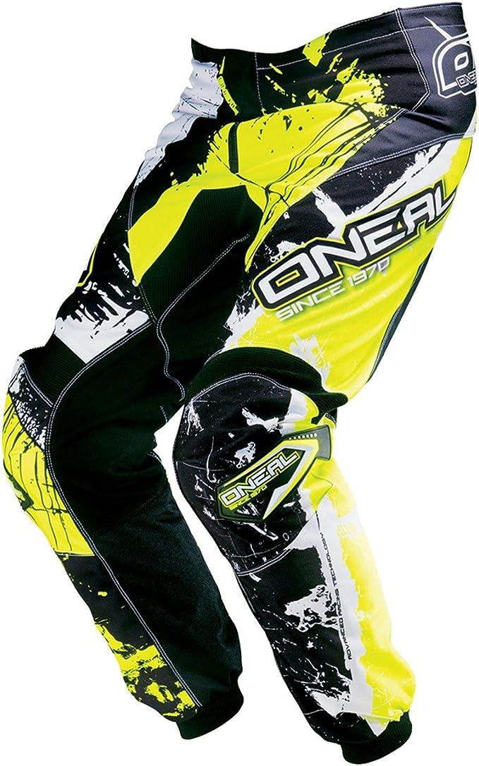 O Neal Element Kinder Mx Hose Shocker Neongelb Motocross Enduro Offroad 0124s 62 Größe 28 44 Sport Freizeit