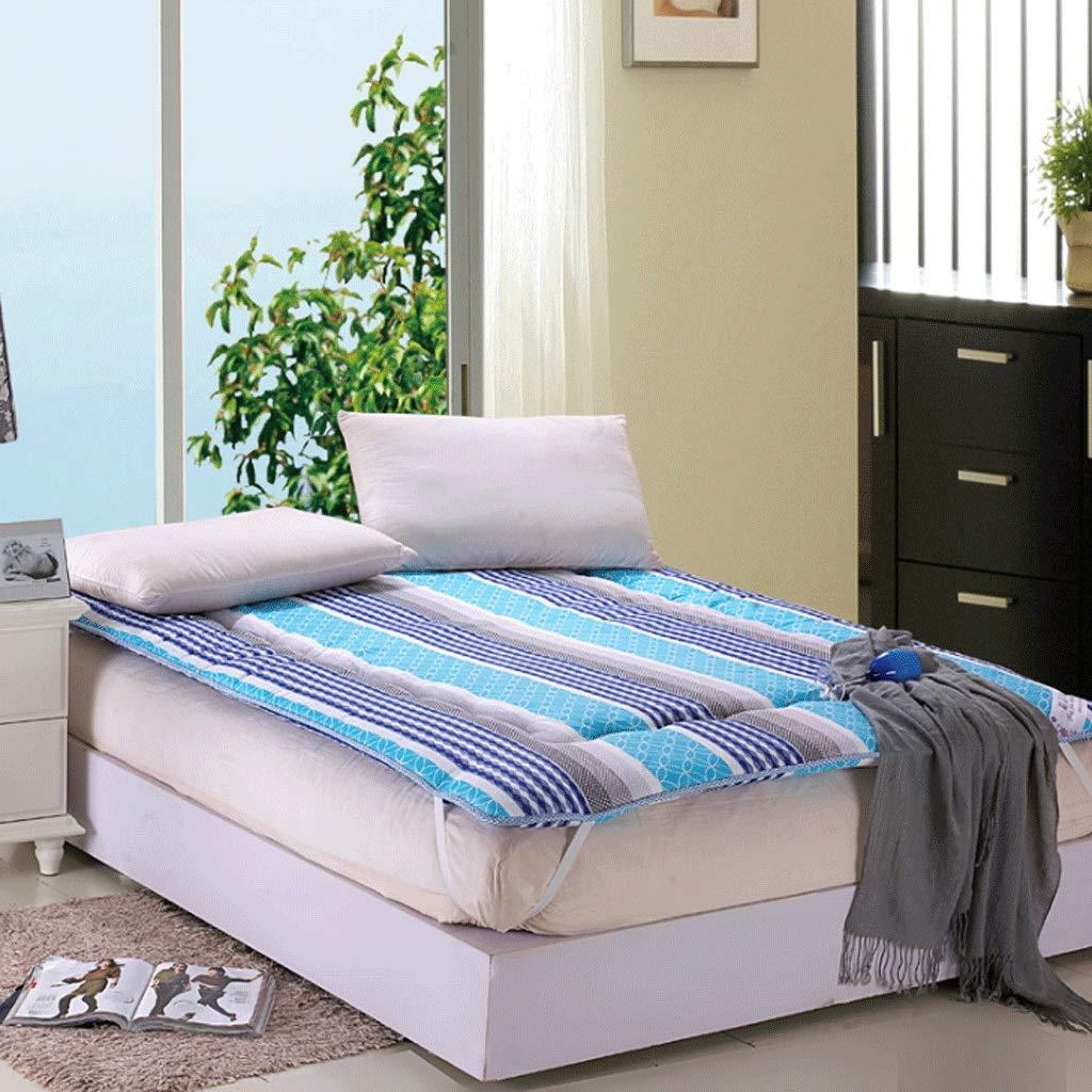 9 180X200cm Student Dormitory Mattress Home Tatami Yoga Folding Sleeping Pad (color   14, Size   120X200cm)