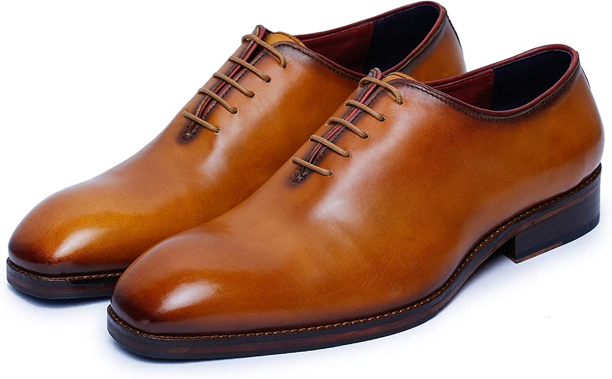 Lethato Handcrafted Wholecut Oxford Men