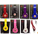 SOLID BASS SL 800 DETACHABLE CABLE DJ STYLE SMART HEADPHONE, HIGH DEFINITION SOUND FOR i PHONE,i PAD, AND FOR ALL SMART PHONE