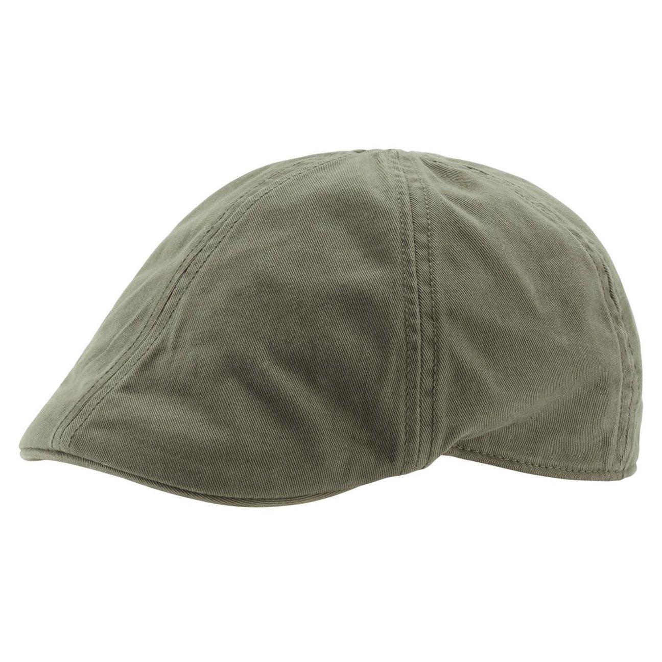 Gatsby Street Coppola berretto piatto cappello Taglia unica - oliva