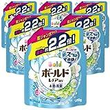 【ケース販売】 ボールド 洗濯洗剤 液体 フレッシュピュアクリーンの香り 詰め替え 1580g×6個