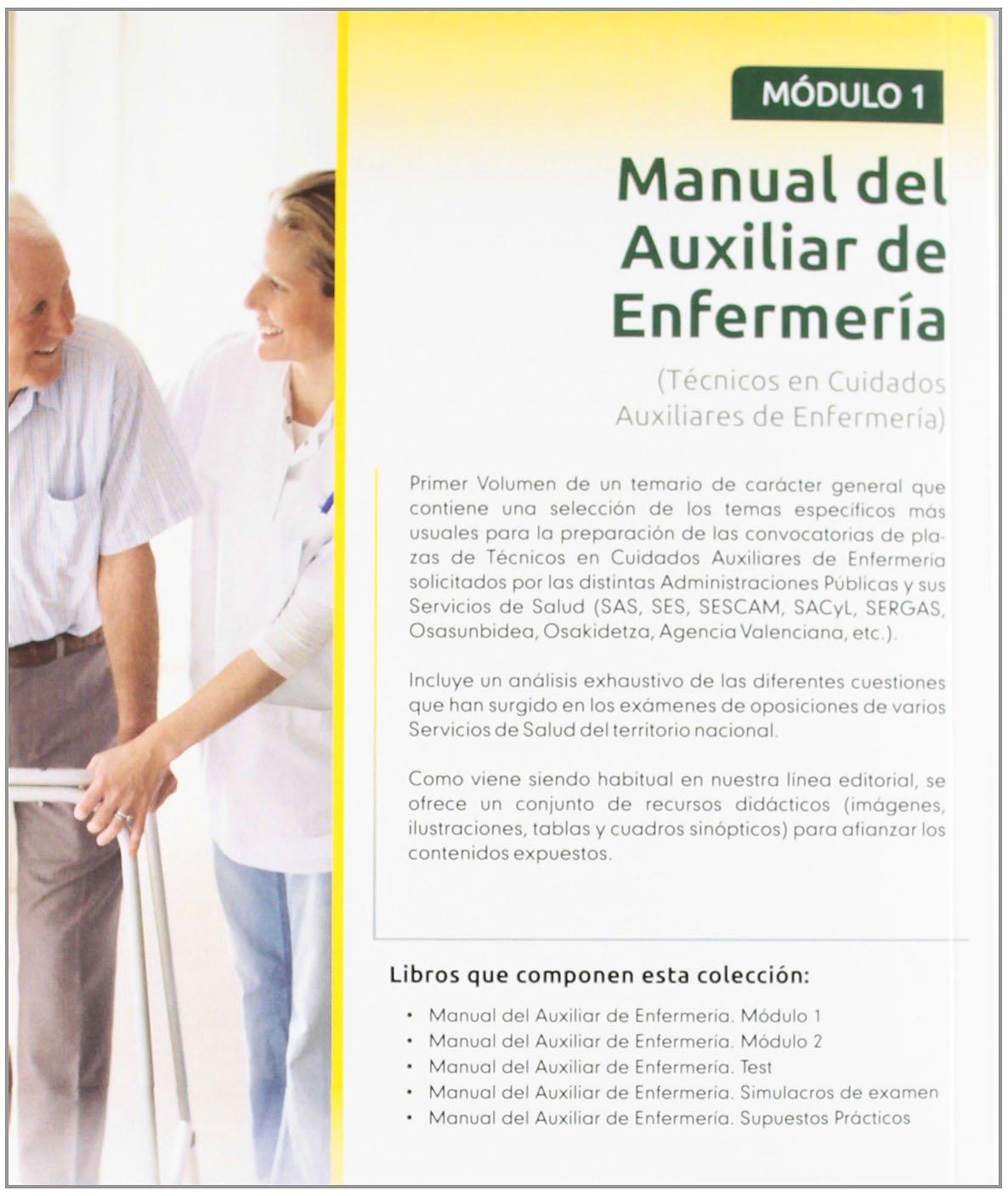 Manual Del Auxiliar De Enfermería Módulo I Spanish Edition