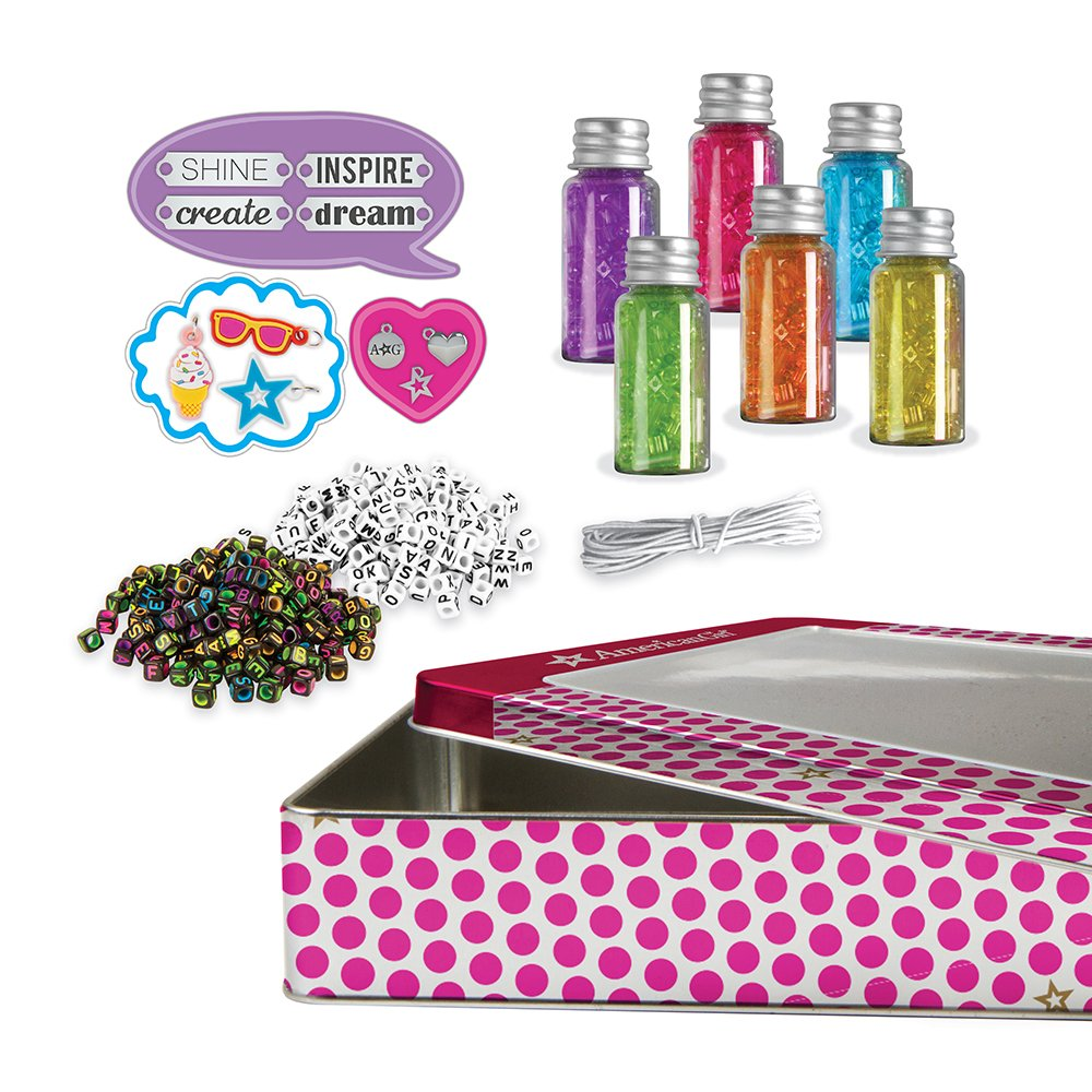 American Girl 24180 All About Beading Kit Multi by American Girl (Image #1)