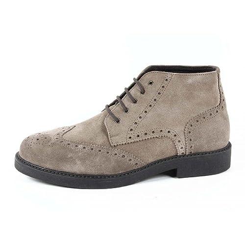 Versace 19.69 Botas/Botines Para Hombre 100% Gamuza CUERO: Amazon.es: Zapatos y complementos