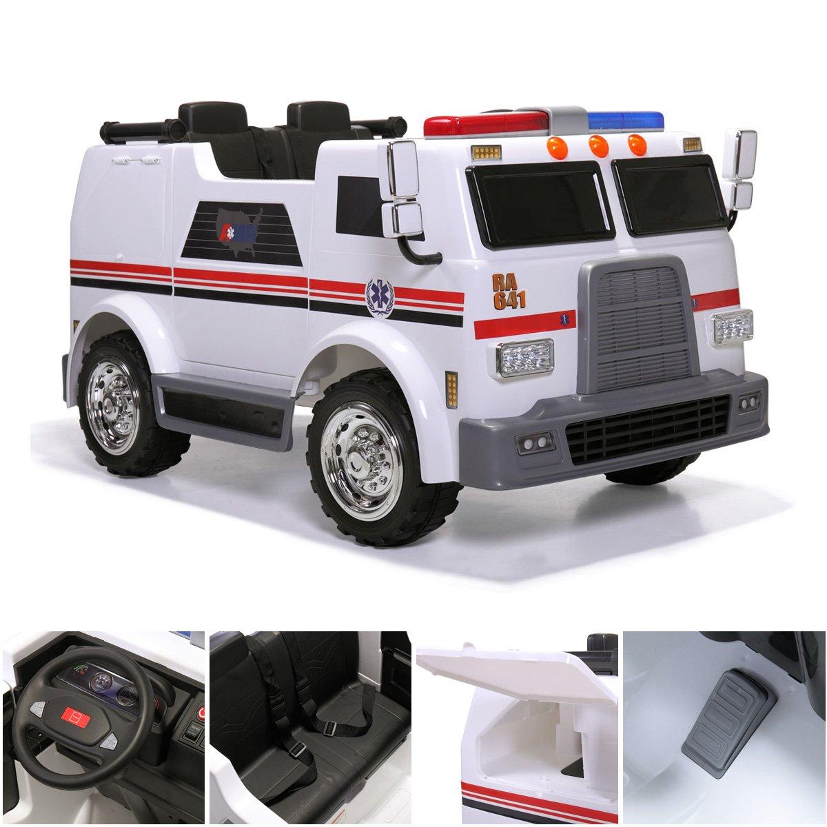 Amazon.com: Tobbi - Batería de 12 V para vehículo con mando ...