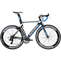 YH-XC7000 Mens Road Bike 54cm Lightweight Aluminum Frame 14 Speed 700C Road Bicycle Commuter Bikes for Men and Women 3…