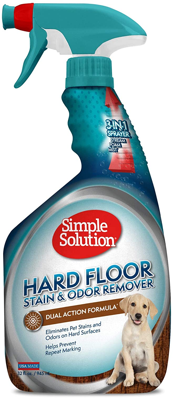 Best for hard floors: Simple Solution Remover Cleaner Hardwood
