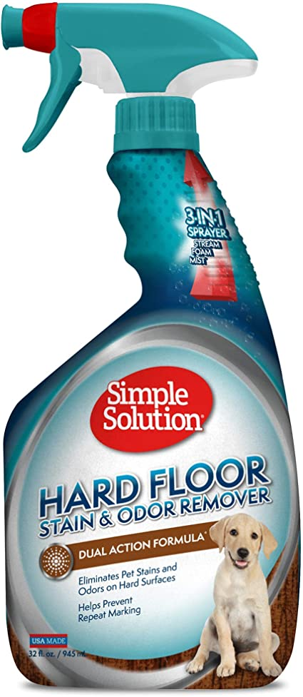 Amazon Com Simple Solution Hard Floor Pet Stain And Odor Remover