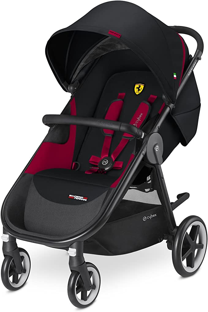 CYBEX Gold Nacelle Cot S Scuderia Ferrari 9 kg De la Naissance jusqu/à 6 Mois Victory Black