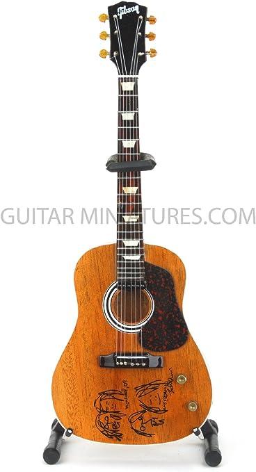 John Lennon de los Beatles guitarra en miniatura de paz (GMZ32 ...
