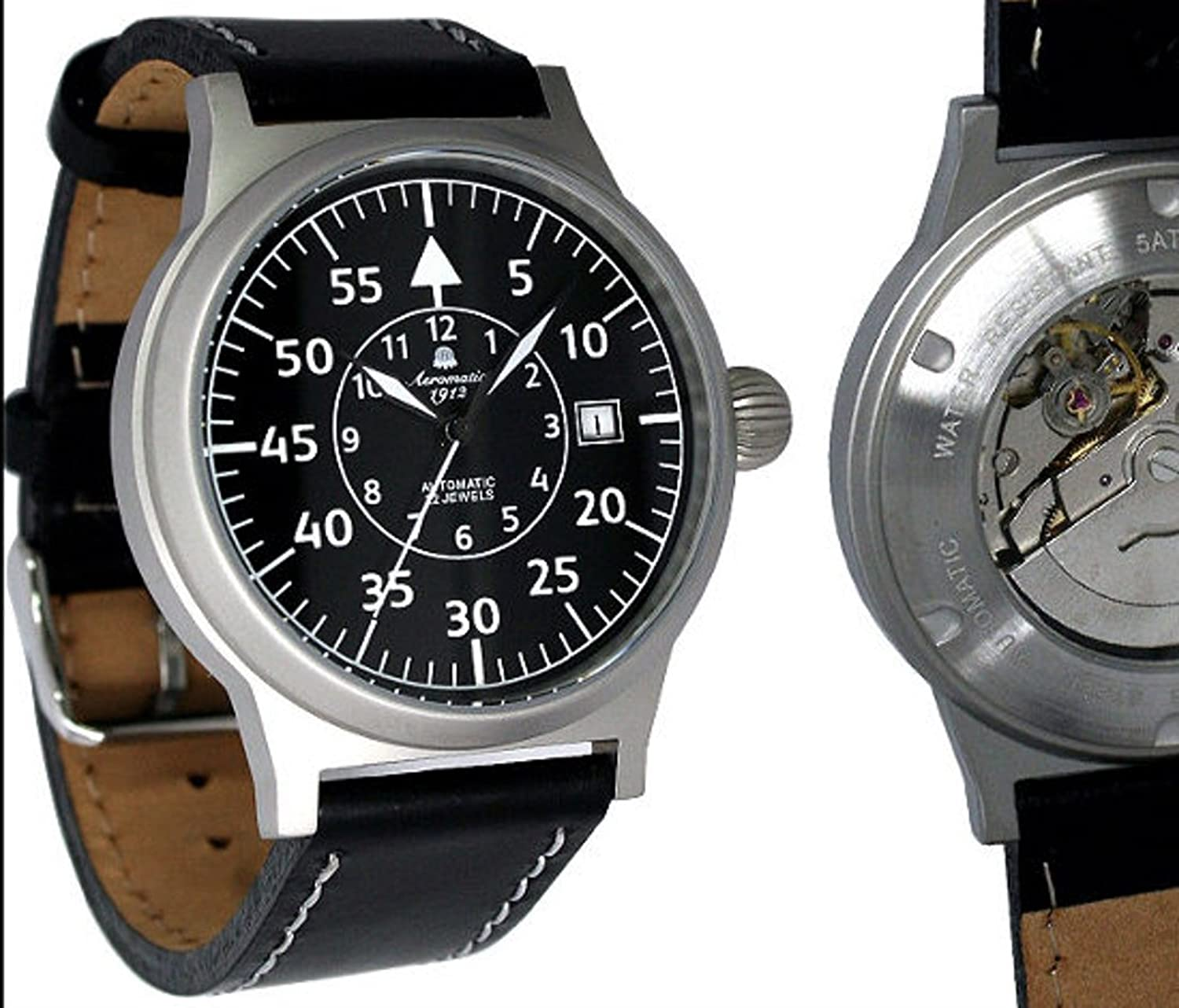 Automatik Military Flieger Uhr Retro Look