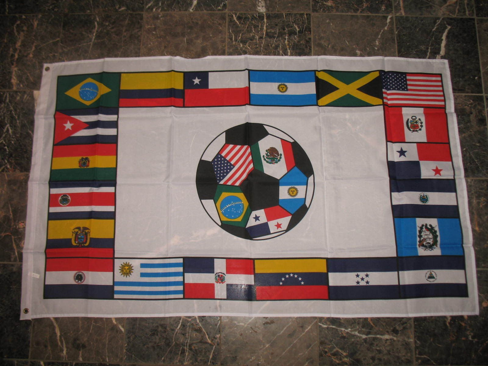 3X5 South America Country Soccer Flag 3'X5' Banner