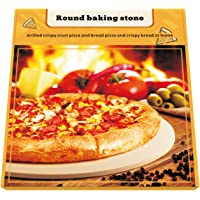 """Pizza Stone, 16"""" Premium Pizza Stone for Baking Pizza in an Oven or BBQ Grill Like a Pro Heat Retaining and Perfect For Deep Dish or Thin Crust Pizza"""
