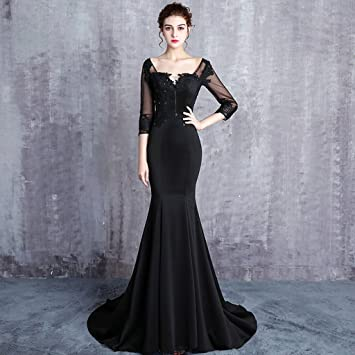 Vestidos novia en color negro