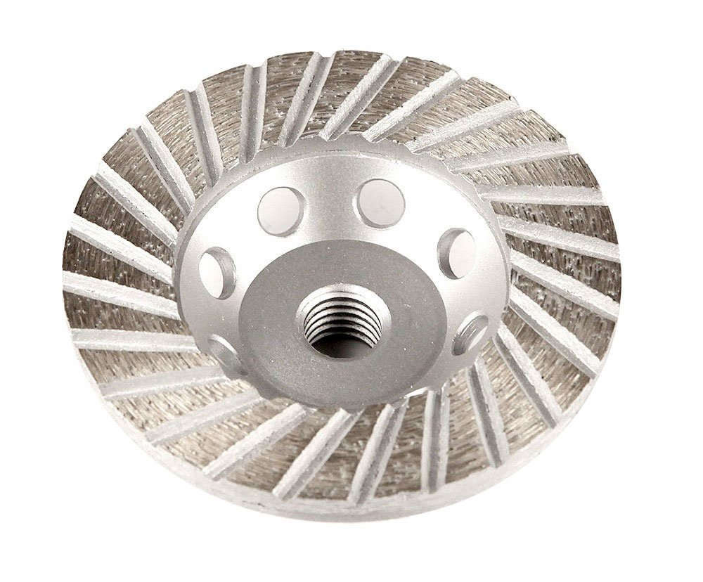 Master Wholesale 4'' Turbo Stone Grinding E-Cup with Steel Back