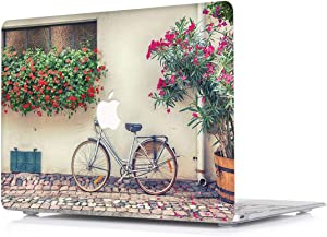 L2W Hard Case for Apple MacBook Pro 15.4 Inch with Retina Display Model A1398 Laptop Computers Accessories Plastic Smooth Print View Design Protective Pattern Cover,Bicycle