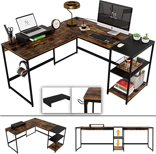 Nost Host Switchable 59 L Shaped Corner Computer Desk Review