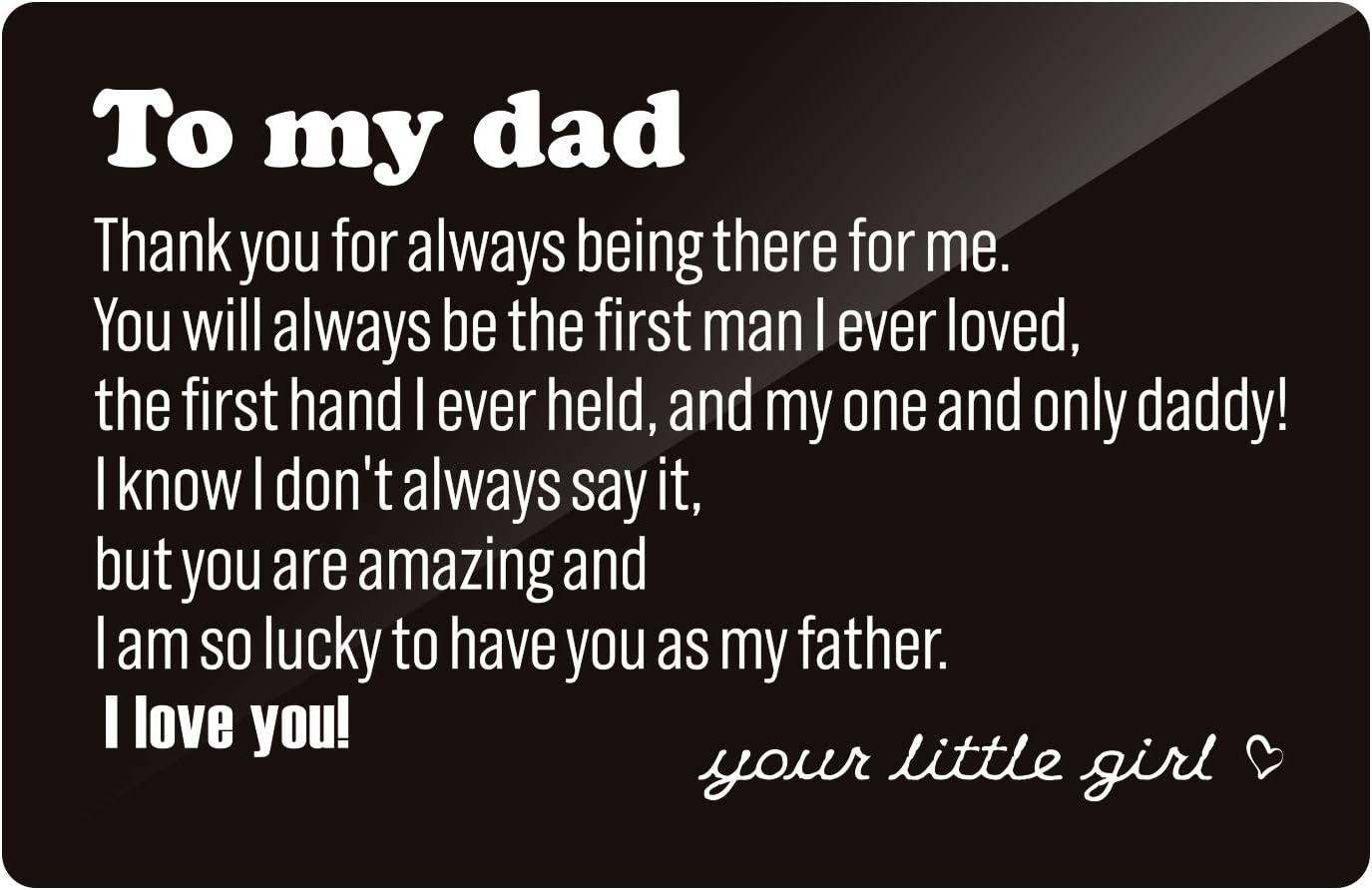 Best DAD ever Card /& Envelope 5\u201dx7\u201d