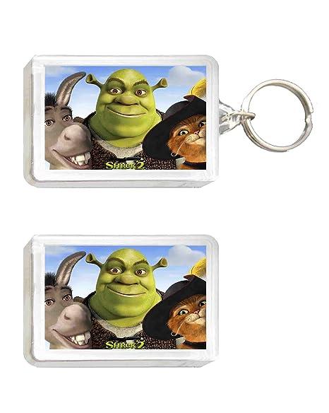 Llavero y Imán Shrek: Amazon.es: Juguetes y juegos