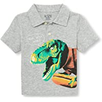 c23930320 The Children's Place Baby Boys Short Sleeve Print Polo