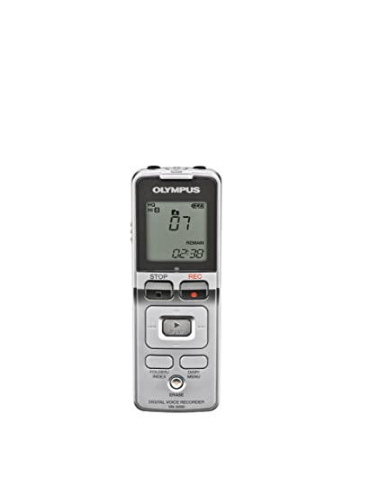 amazon com olympus vn 5000 digital voice recorder 141985 silver rh amazon com Olympus DS-5000 Olympus 5000 Digital Voice Recorder