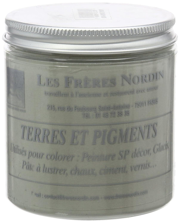 Les Frè res Nordin - 418139 - Terres et Pigments - Gris Ardoise - 200 g Les frères Nordin