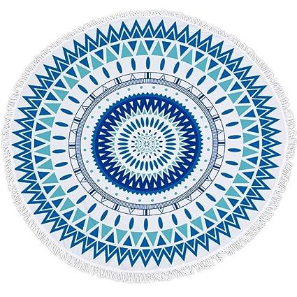 Amazon.com: KRWHTS 3D Flower Printed Tassel Tapestry Large ...