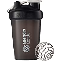 BlenderBottle C00613 Classic Loop Top Shaker Bottle, 20 Ounce, Black