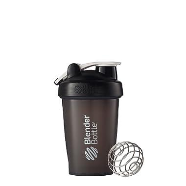 BlenderBottle C00613 Blender Classic Loop Top Shaker Bottle, 20-Ounce Black