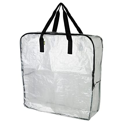 Extra Large Clear Storage Bag for Clothing Storage Under the Bed Storage Garage Storage  sc 1 st  Amazon.com & Amazon.com: Extra Large Clear Storage Bag for Clothing Storage ...