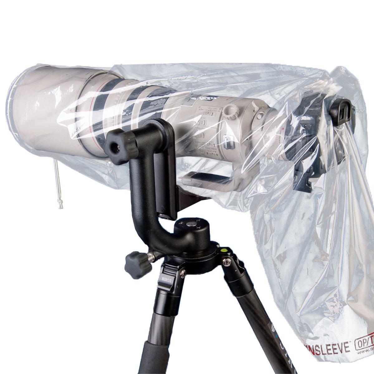 OP/TECH USA 9001252 Mega Cover Rainsleeve (Clear)