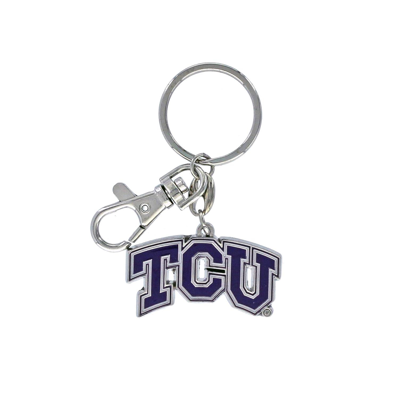 aminco NCAA TCU Horned Frogs Heavyweight Keychain