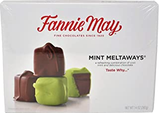 product image for Fannie May Chocolate Candy (Mint Meltaways, 14oz) (2 PACK)