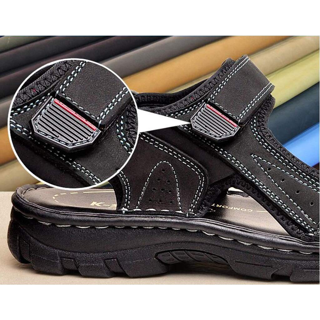 Size: Color: Sandals Mens Cool Slippers Sports Sandals Sandals Dynamic Sandals Simple Breathable Fashion Trends Casual Soft Sandals Flats Light Sandals