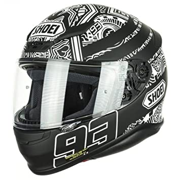 Shoei NXR Marquez TC5 Digi Ant Full Face casco de moto