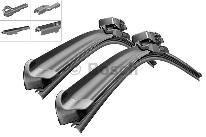 Bosch Aerotwin AM460S 3397007460 Limpiaparabrisas 530/450 + 2 x Gelan para limpiaparabrisas, - Set [fop del paquete]: Amazon.es: Coche y moto