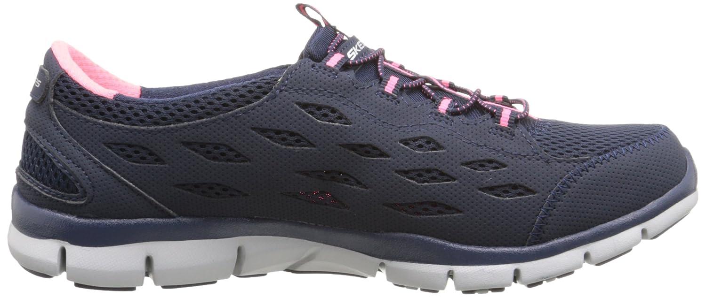 Skechers Sneaker Sport Women's Gratis Bungee Fashion Sneaker Skechers B00VVG1BCS 8 B(M) US Navy/Pink a182e4