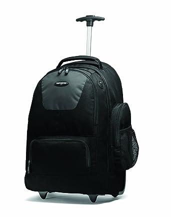 Amazon.com | Samsonite Wheeled Backpack, Black/Charcoal, One Size ...