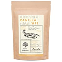 Bare Blends - Natural Whey Protein Isolate & Vanilla Bean   WPI   Whey Protein Powder   Gluten Free   non-GMO   1kg